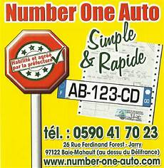carte grise garage number one auto 224 baie mahault