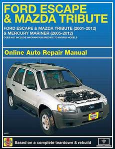 online auto repair manual 2007 ford escape on board diagnostic system 2007 ford escape haynes online repair manual select access ebay