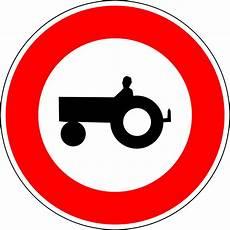interdiction voiture panneau d interdiction d acc 232 s aux v 233 hicules agricoles 224 moteur en wikip 233 dia