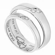 commitment 9ct white gold diamond wedding ring h