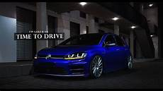 golf 7r tuning blue vw golf 7 r tuning time to drive