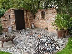 Ruinenmauer Im Garten Selbst Gebaut Ruinenmauer