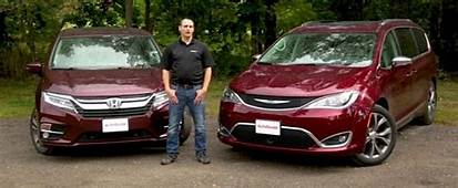 2018 Honda Odyssey Vs 2017 Chrysler Pacifica A Clash Of