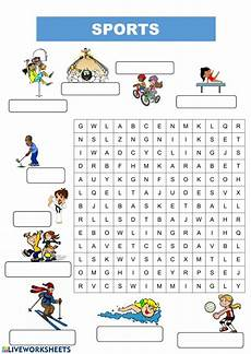 sports worksheets for esl students 15722 sports and pdf worksheet