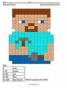 minecraft multiplication coloring pages http www coloringsquared com cool education