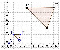 dilation geometry kwiznet math science english homeschool afterschool tutoring lessons
