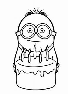 Malvorlage Minion Geburtstag 11 Beste Ausmalbilder Minions Gratis Zum Drucken
