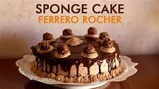 torta con ferrero rocher sbriciolati torta ferrero rocher sponge cake con crema alla nutella ricetta facile roby in cucina