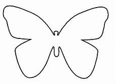 Ausmalbild Schmetterling Umriss Schmetterling Basteln Schmetterlinge Aus Filz Papier