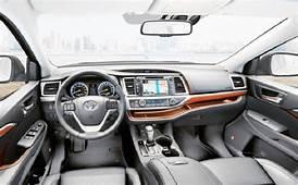 2020 Toyota Highlander Interior Design