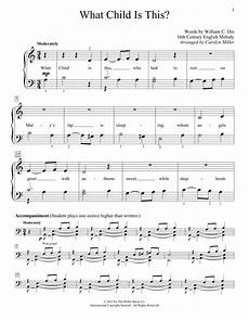 what child is this sheet music christmas carol educational piano