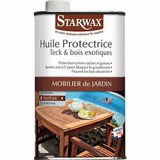 huile protectrice teck et bois exotiques starwax bidon