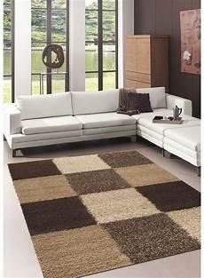 tapis salon shaggy norlaz beige