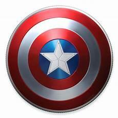 captain america shield 2019 10 gram proof silver domed