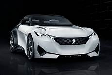 peugeot s new fractal coupe hatch convertible concept in