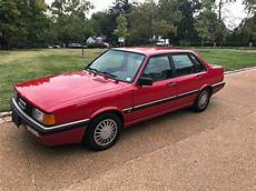 old car manuals online 1987 audi 4000cs quattro electronic throttle control 1987 4000 cs quattro super clean all records 5 speed make offer free ship