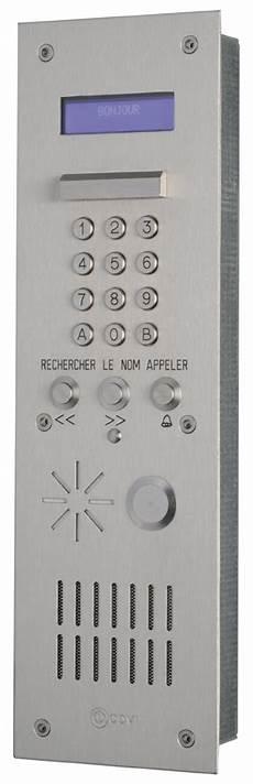 Platine Interphone Immeuble Interphonie Filaire 46 Fournisseurs Sur Hellopro Fr