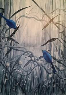 handgemalte bilder auf leinwand acrylmalerei auf leinwand prim 228 rfarbe grau sekund 228 rfarbe