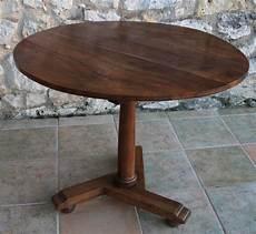 vendu table ronde pliante patabrac