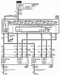 wiring diagram for 2000 honda civic lx power mirrors