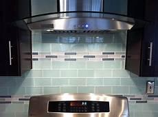 Glass Subway Tiles For Kitchen Backsplash Glass Subway Tile Backsplash With Glass Mosaic Inlay Yelp