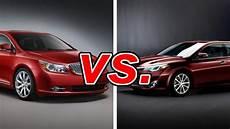 Buick Lacrosse Vs Toyota Avalon buick lacrosse vs toyota avalon carsdirect