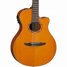best thin acoustic guitar yamaha ntx700c classical thin line acoustic electric guitar with cedar top music123