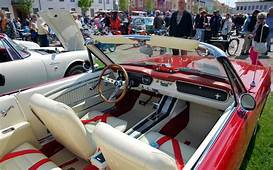 1965 Mustang Convertible Red White Interior  Google