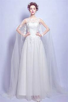 chic robe de mari 233 e dentelle avec cape 2017 persun fr