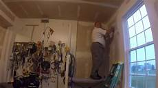 garage verputzen innen how to prepare garage walls with joint compound and