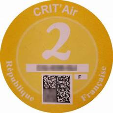 crit air certificat qualit 233 de l air