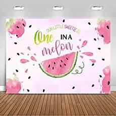 5x3ft 7x5ft Watermelon Melon Birthday Photography by Ltlyh 7x5ft Watercolor Summer Fruit