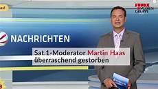Martin Haas Gestorben - sat 1 moderator martin haas 252 berraschend gestorben waz