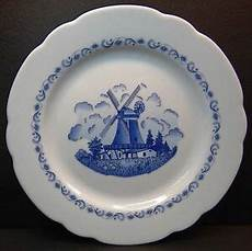 winterling porzellan germany bavaria dinner plate windmill