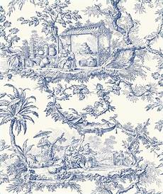 toile de jouy papier peint papier peint toile de jouy bleu papier peint lutece abby