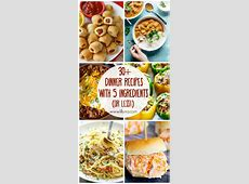 30  5 Ingredient (or less!) Dinner Recipes   Lil' Luna