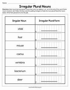 irregular plural nouns worksheet have fun teaching