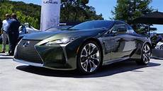 lexus lc 2020 2020 lexus lc inspiration series has us green with envy