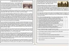 s worksheets 20270 the story of the wwi truce informational text reading comprehension teaching