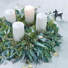 adventskranz selber machen flowers and advent