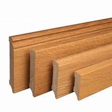 Fußleisten Für Laminat - sockelleiste aus holz eiche massivholz fu 223 leisten f 252 r