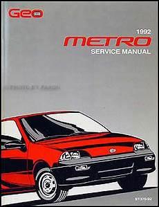 online car repair manuals free 2001 chevrolet metro auto manual 1992 geo metro repair shop manual original