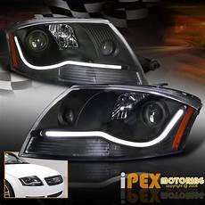 new led glow 1999 2006 audi tt projector black