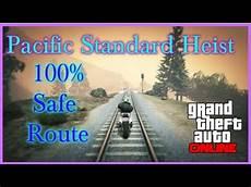 pacific standard heist gta 5 pacific standard heist 100 safe route