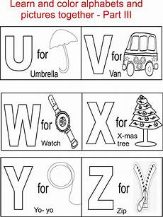 letter color worksheets 23037 alphabet part iii coloring printable page for