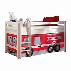 lit pompier but lit enfant quot pino pompier quot blanc