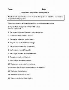 action verbs worksheets for grade 2 pdf verbs worksheets action verbs worksheets