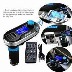 agptek newest wireless bluetooth car kit fm transmitter