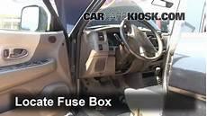 Interior Fuse Box Location 1997 2004 Mitsubishi Montero