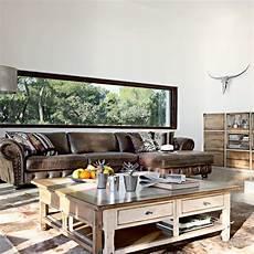 Modernes Wohnzimmer Braun - summer living room designs